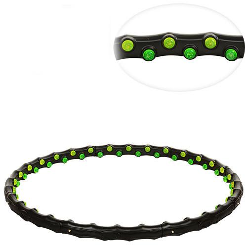 Обруч с магнитами hoop grace magnetic хула хуп массажный обруч для снижения веса фото №1