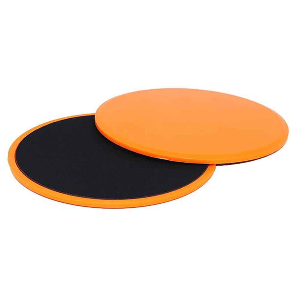 Скользящие диски, упоры для фитнеса sport 17.5 см 2 шт фото №1