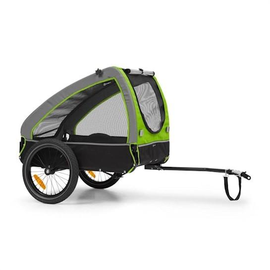 Велосипедный прицеп для собак husky ок. 250 л 600d брезент oxford klarfit фото №1