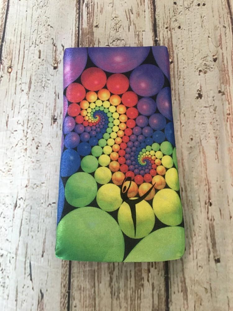 Цветная подушка для растяжки 4 см толщиной с гимнасткой! фото №1