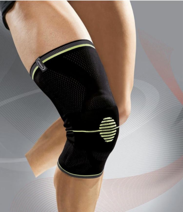 Стабилизирующая повязка бандаж для коленного сустава sensiplast. унисекс. фото №1