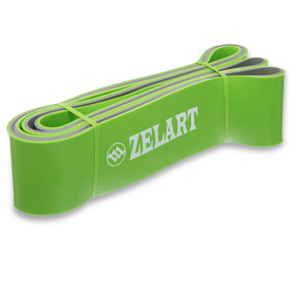 Резина для фитнеса dual power band 0911-8 (резина для подтягиваний): мощность xl, 2080x64x4,5мм фото №1
