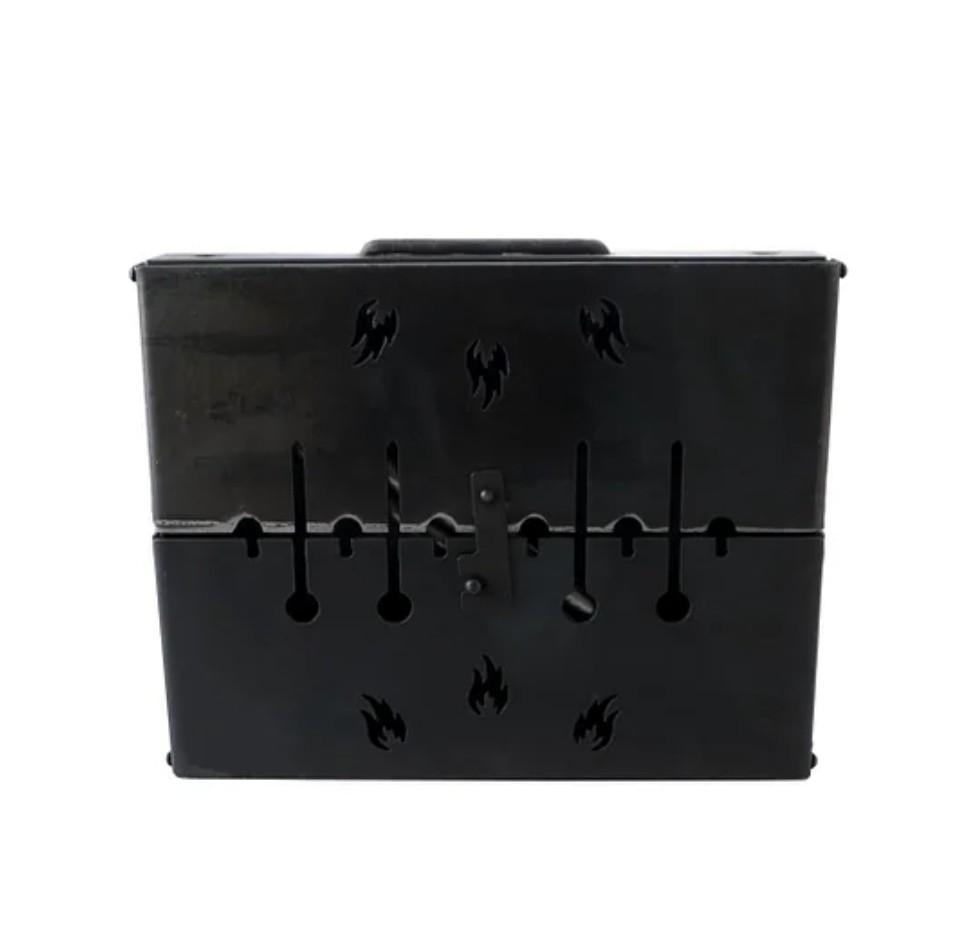 Мангал складной чемодан на 6 шампуров фото №1