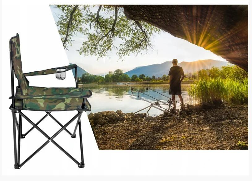 """Кресло складное для пикника и рыбалки """"паук"""" польша фото №1"""