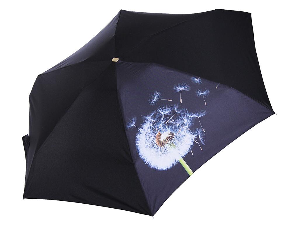 Черные мини зонты nex. плоские зонты. гарантия. бесплатная доставка фото №1
