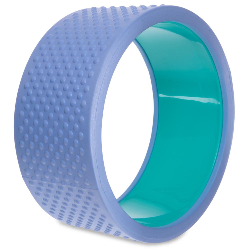 Колесо кольцо массажное для йоги fit wheel yoga 2439: размер 33см фото №1