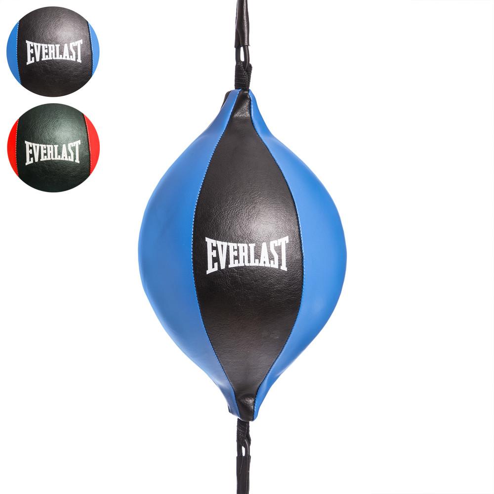 Груша пневматическая на растяжках everlast 2281: pu, 2 цвета (круглая) фото №1