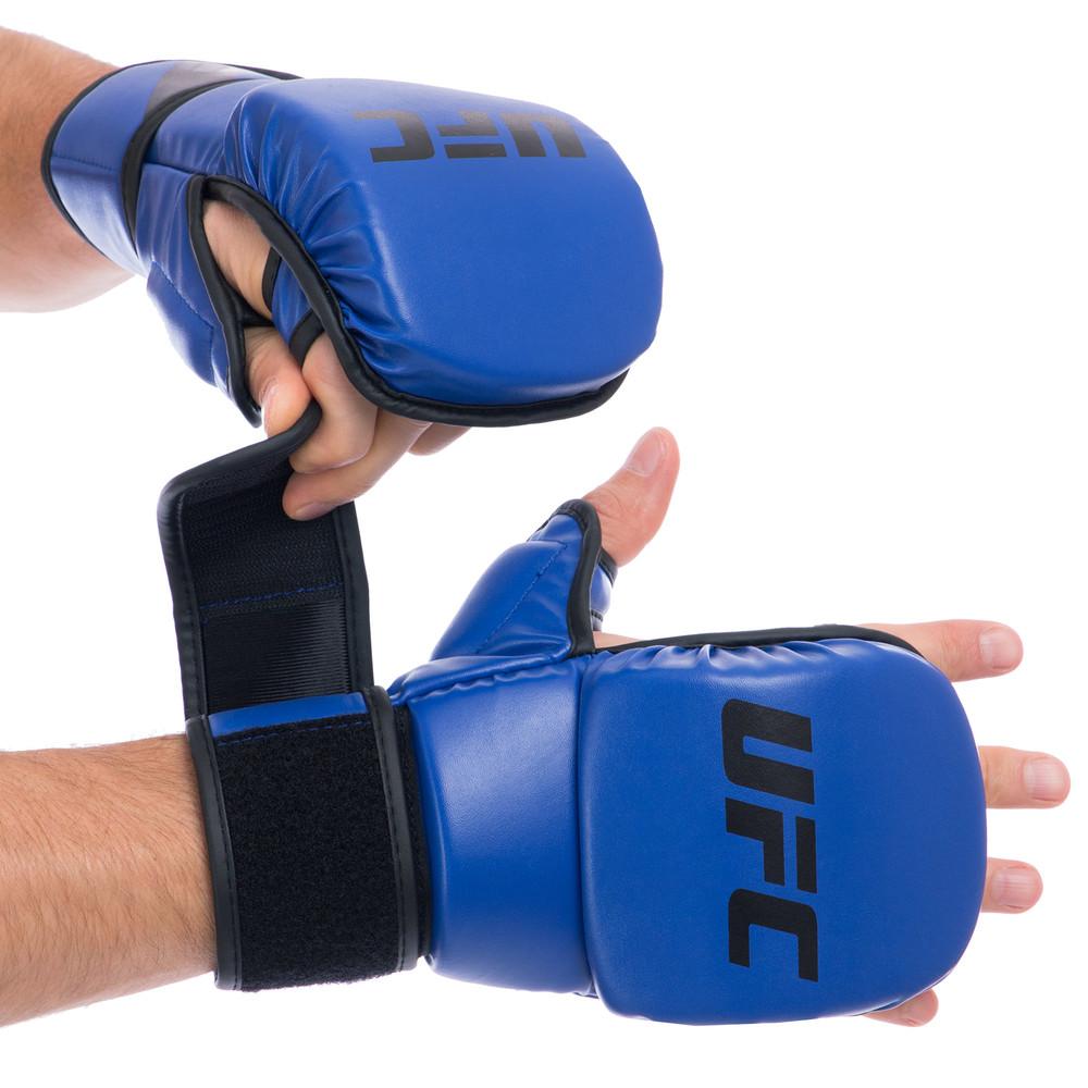 Перчатки гибридные для единоборств ufc contender 69147: s/m (8 унций) фото №1