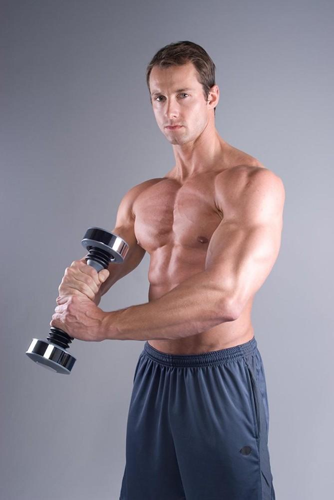 Спортивная гиря-гантель shake weight для мужчин виброгантель фото №1
