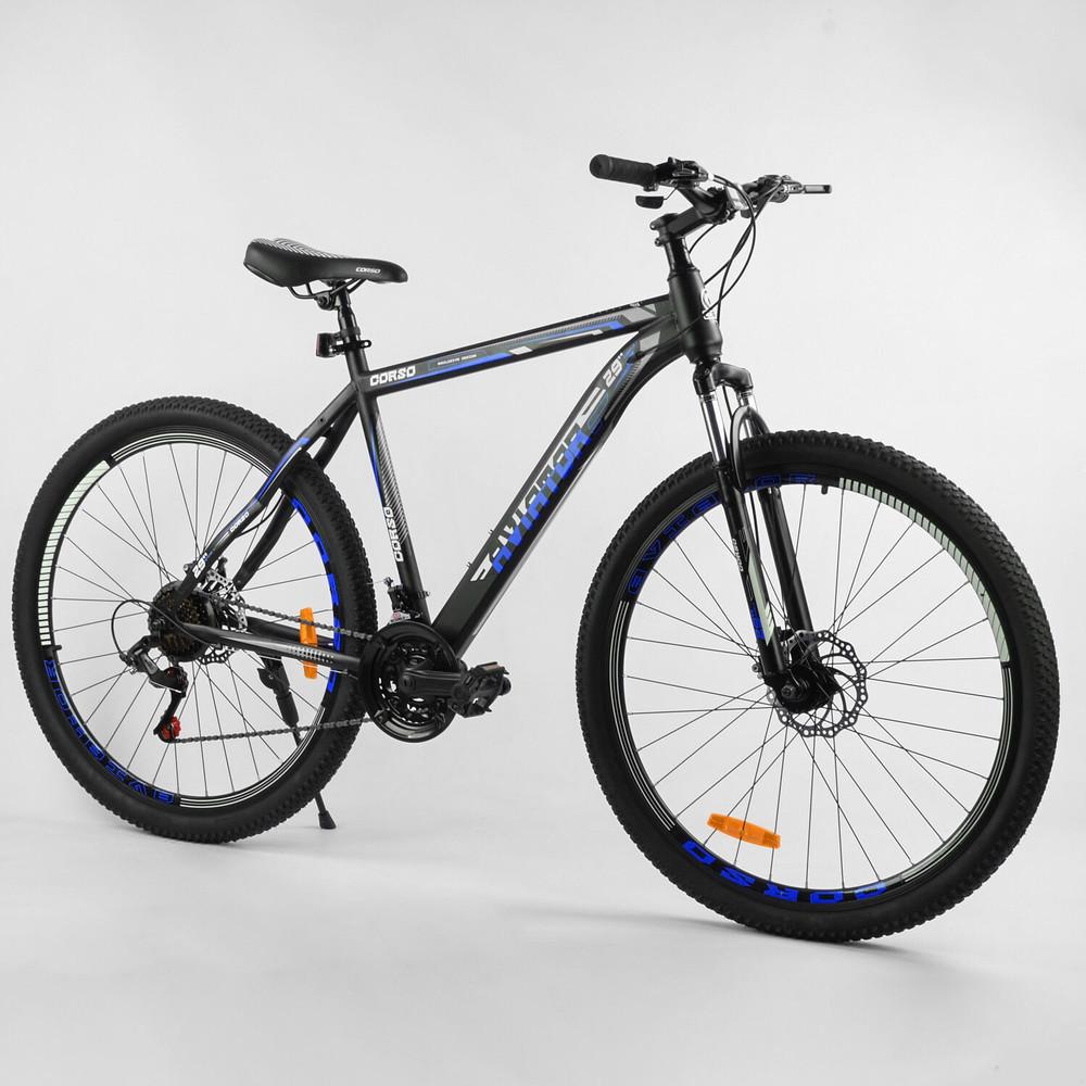Велосипед горный спортивный corso aviator 29 дюймов найнер фото №1