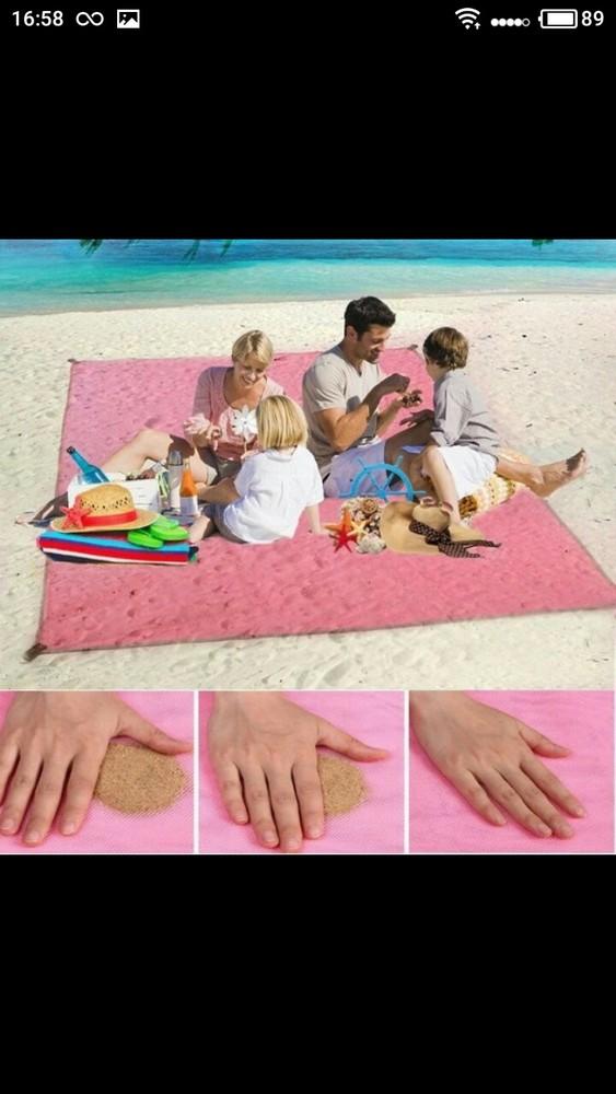 Отличные яркие и качественные подстилки коврики для пляжа! фото №1