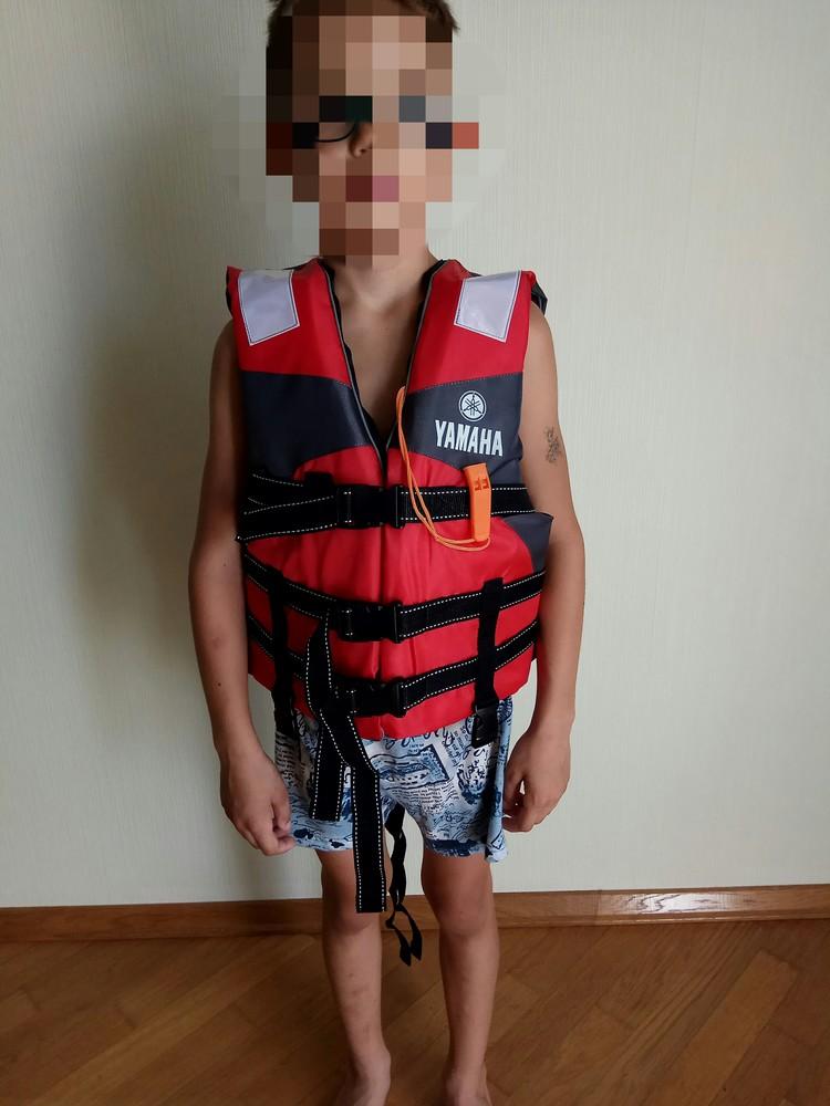 Детский страховочный спасательный жилет yamaha фото №1