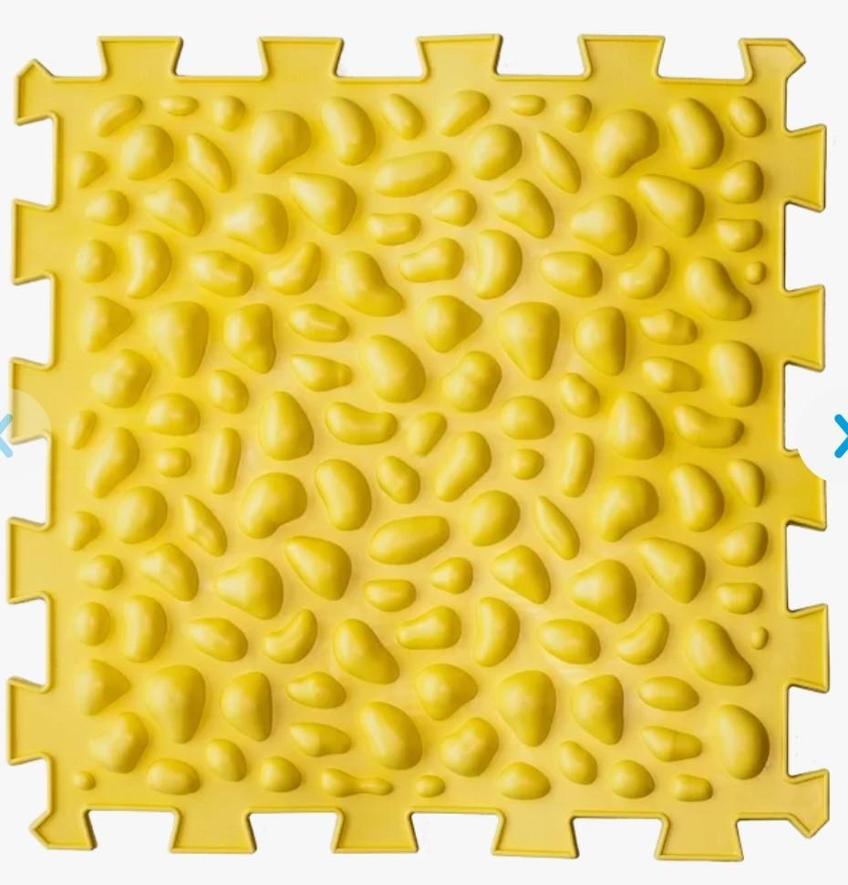 Коврик массажный пазлы микс галька 1 элемент артикул: 09681 фото №1