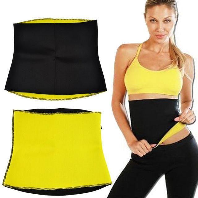 Неопреновый пояс для похудения hot shapers belt neotex фото №1