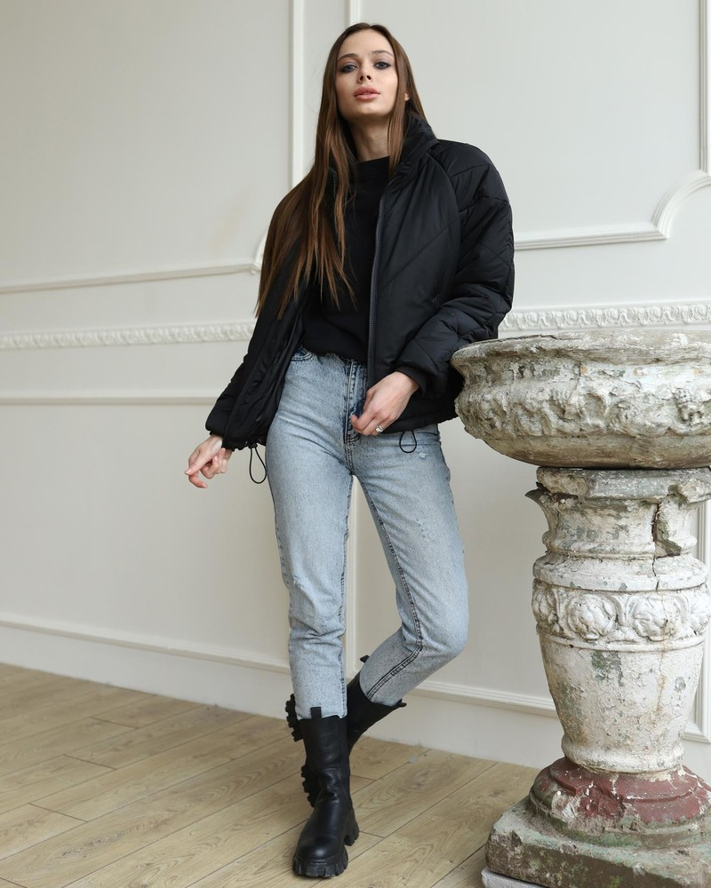 ► куртка кейт чёрный фото №1