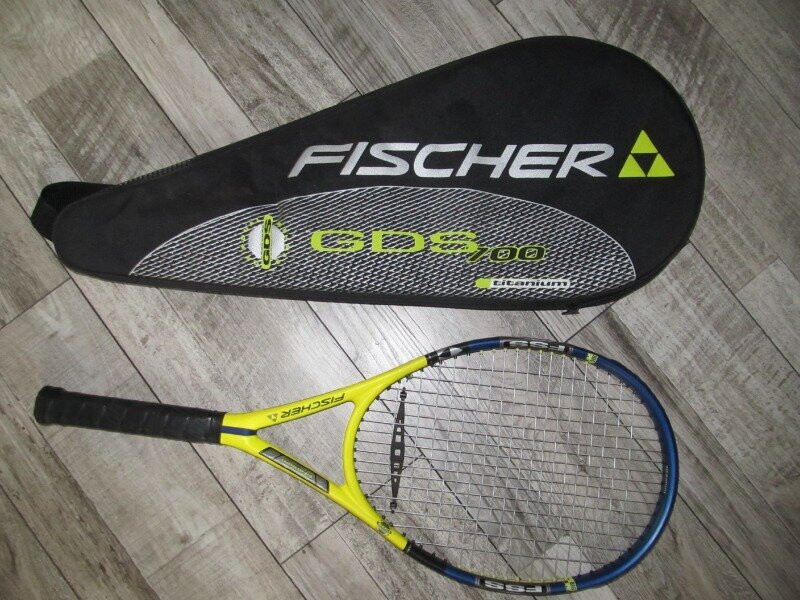 Ракетка для большого тенниса fischer gds fss rally titanium чехол австрия оригинал фото №1